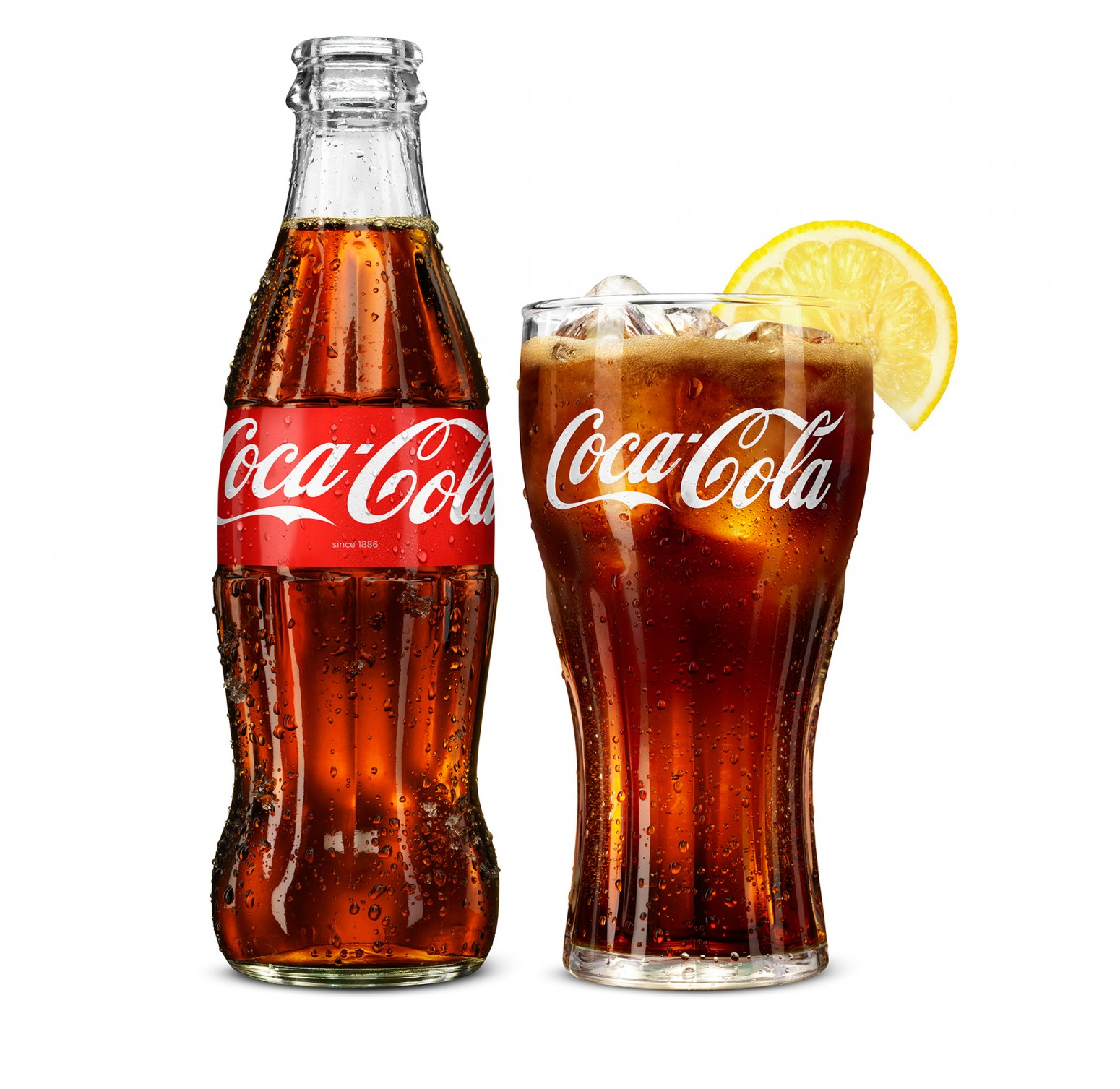 Coca Cola beauty shots