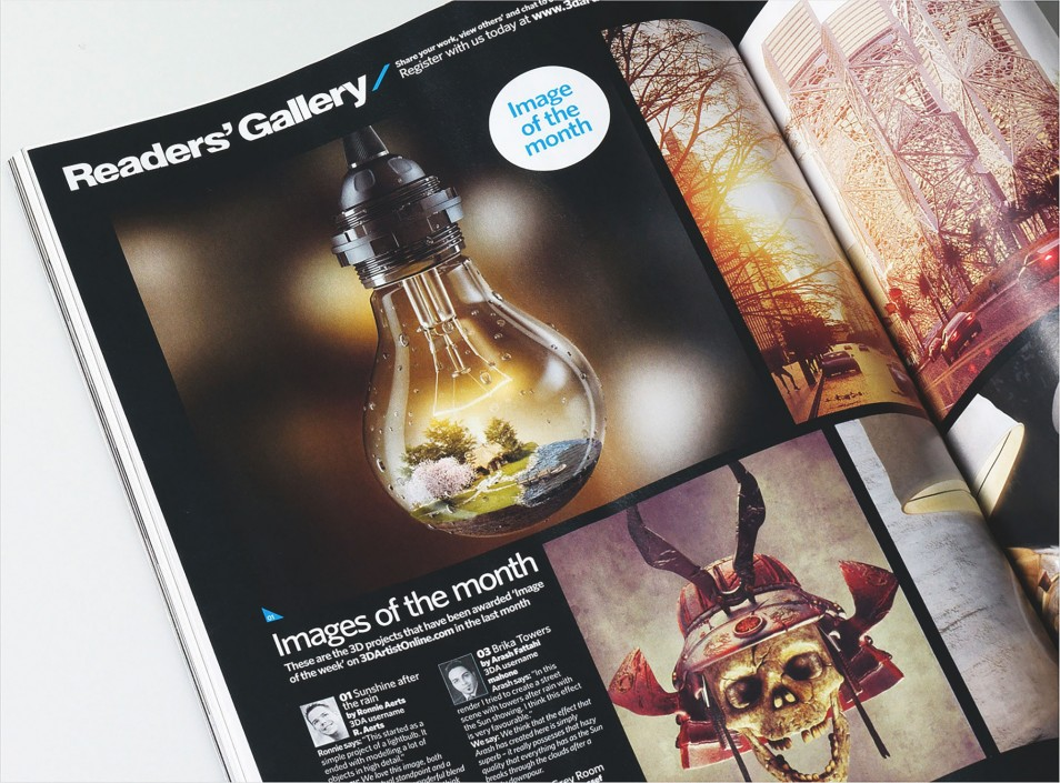 Lighting Bulb Magazine