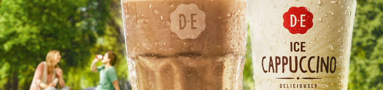 photography for Ice Coffee Ad